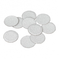 Sealey SA722D80G Sanding Disc 75mm 80 Grit Pack of 10