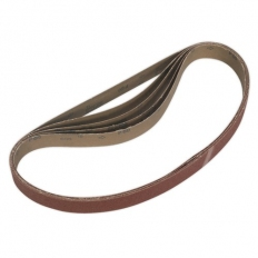 Sealey SB0020 Sanding Belt 25 x 762mm 60Grit Pack of 5