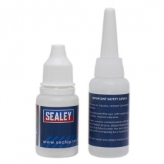 Sealey SCS906 Fast-Fix Filler & Adhesive - Clear