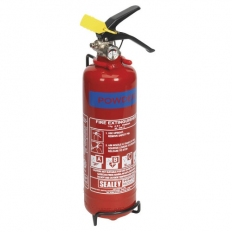 Sealey SDPE01 1kg Dry Powder Fire Extinguisher