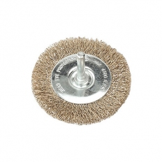 Sealey SFB75 Flat Wire Brush Diameter 75mm with 6mm Shaft