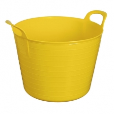 Sealey SFT40Y 40ltr Heavy-Duty Flexi Tub - Yellow