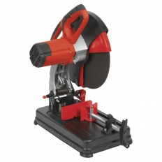 """Sealey SM355D Metal Abrasive Disc Cut Off Saw Chop Saw With Blade 14"""" 350mm 240V"""