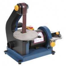 Sealey SM750 25 x 762mm/Diameter 125mm Belt/Disc Sander 250W