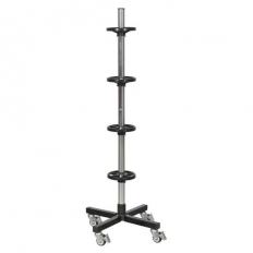 Sealey STR004 Wheel Storage Trolley - 100kg Capacity