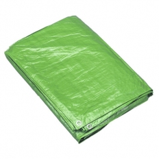 Sealey TARP68G 1.83 x 2.44mtr Tarpaulin - Green