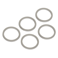 Sealey VS15SPW Sump Plug Washer M15 - Pack of 5