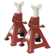 Sealey VS2003 Ratchet Type Axle Stands 3tonne Capacity per Stand