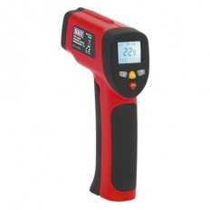 Sealey VS940 Infrared Twin-Spot Laser Digital Thermometer 12:1