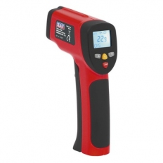 Sealey VS941 Infrared Twin-Spot Laser Digital Thermometer 12:1 High Temperature