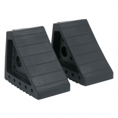 Sealey WC01 Rubber Wheel Chocks 2.2kg - Pair