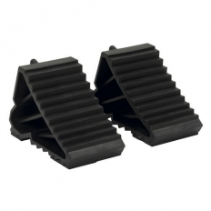 Sealey WC09 Composite Wheel Chocks 0.3kg - Pair