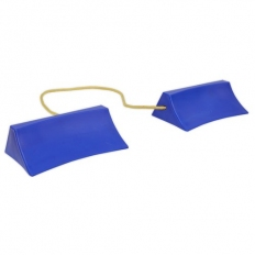 Sealey WC15 Plastic Wheel Chocks - Pair