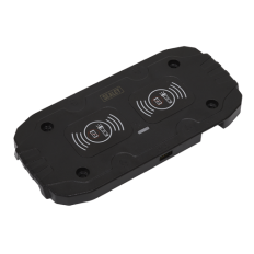Sealey WCB2 Wireless Charging Base Double 5V 2A