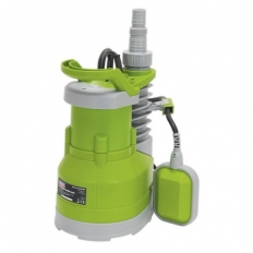 Sealey WPC100P Submersible Water Pump Automatic 100 Litre/min 230V