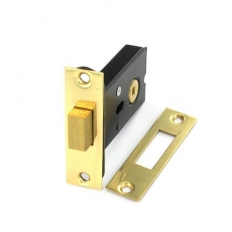 Securit S1838 Deadbolt For 5mm Spindle Nickel Plated 75mm Pack Of 1