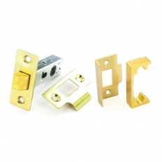 Securit S1941 Rebated Mortice Latch Electro Brassed 63mm Pack Of 1