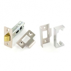 Securit S1943 Rebated Mortice Latch Nickel Plated 63mm Pack Of 1