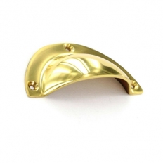 Securit S2662 Brass Drawer Pull 90mm Pack Of 1
