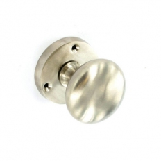 Securit S2869 Brushed Nickel Mortice Knobs 57mm Pack Of 1 Pr