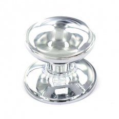 Securit S2926 Chrome Centre Knob 75mm Pack Of 1