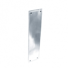 Securit S2935 Chrome Finger Plate 300mm Pack Of 1