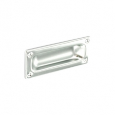 Securit S3178 Aluminium Flush Pull 90mm Pack Of 1