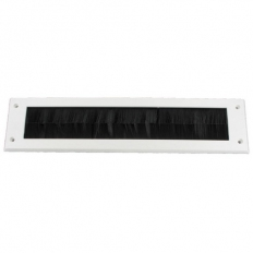 Securit S3250 Brush Letter Box Cover White 300mm Pack Of 1