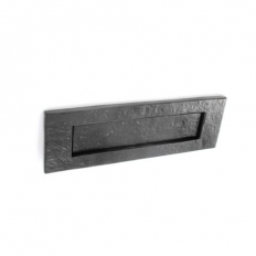 Securit S3315 Black Antique Letter Plate 250mm Pack Of 1