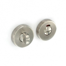 Securit S3424 Satin Stainless Steel Bathroom Thumbturn 50mm Pack Of 1