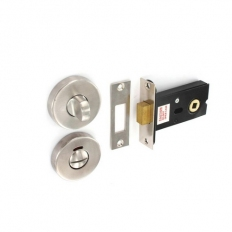 Securit S3425 Satin Stainless Steel Thumbturn With Deadbolt 50mm Pack Of 1 Set