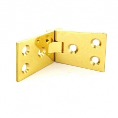 Securit S4285 Polished Brass Counterflap Hinges 100mm Pack Of 1 Pr