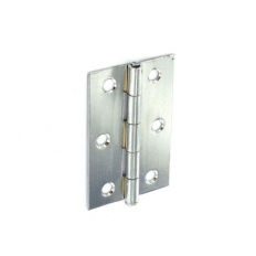 Securit S4322 Loose Pin Butt Hinges Chrome Plated 75mm Pack Of 1 Pr