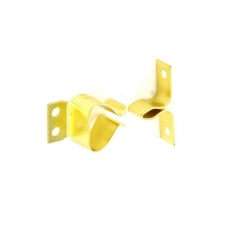 Securit S5444 Gripper Catch Brass Plated Pack Of 2