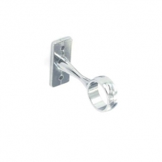 Securit S5560 Centre Brackets Chrome Plated 25mm Pack Of 1