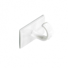 Securit S6350 Self Adhesive Cup Hooks White Pack Of 4