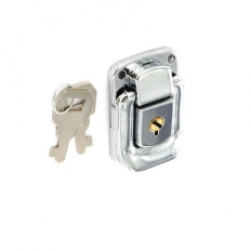 Securit S6606 Case Lock And Key Nickel Plated 48mm Pack Of 1