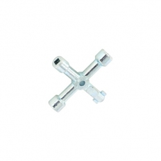 Securit S6847 4 Way Utility Key Zinc Plated Pack Of 1