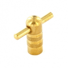 Securit S6848 Radiator Key Brass Pack Of 1