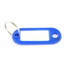Securit S6884 Key Rings With Tabs Pack Of 4