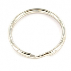 Securit S6886 Steel Split Ring Nickle Plated 30mm Pack Of 4