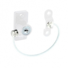Securit S1044 Cable Window Restrictor White