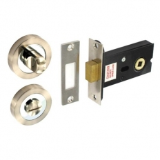 Securit S3478 SN/CP Thumb Turn with Deadbolt