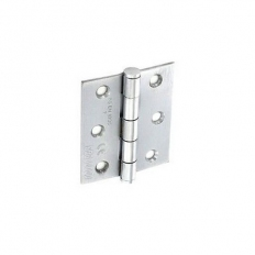 Securit S4261 CE Steel Butt Hinges SCP 75mm