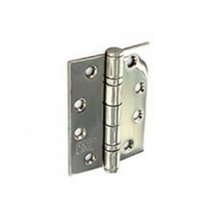 Securit S4262 CE Steel Butt Hinges PCP 75mm