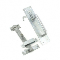 Securit S4735 50/4L Heavy Suffolk Latch Galvanised 215mm