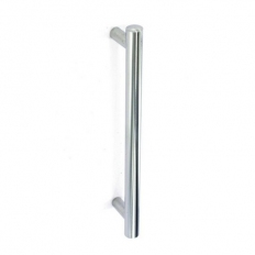 Securit S3653 Bar Pull Handle Matt / Satin Nickel 128mm Pack Of 2