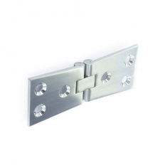 Securit S4286 Chrome Counterflap Hinges 100mm Pack Of 1 Pr