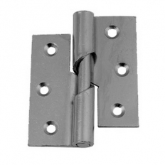 Securit S4334 Rising Butt Hinges Right Hand Zinc Plated 75mm Pack Of 1 Pr