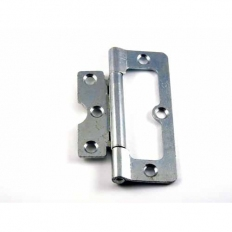 Securit S4413 Hurl Hinges Zinc Plated 100mm Pack Of 1 Pr